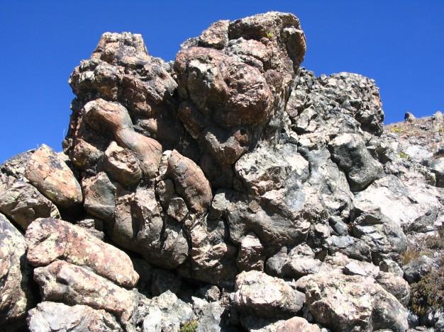 Pillow Lava au Mont Chenaillet