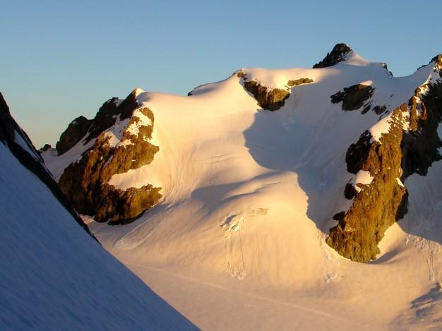 La Roche Faurio, vue du Col de la Grande Sagne.