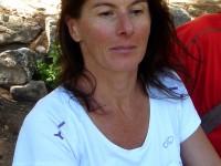 Katia Sukiennick, accompagnatrice en montagne au Bureau des Guides de Serre Chevalier.