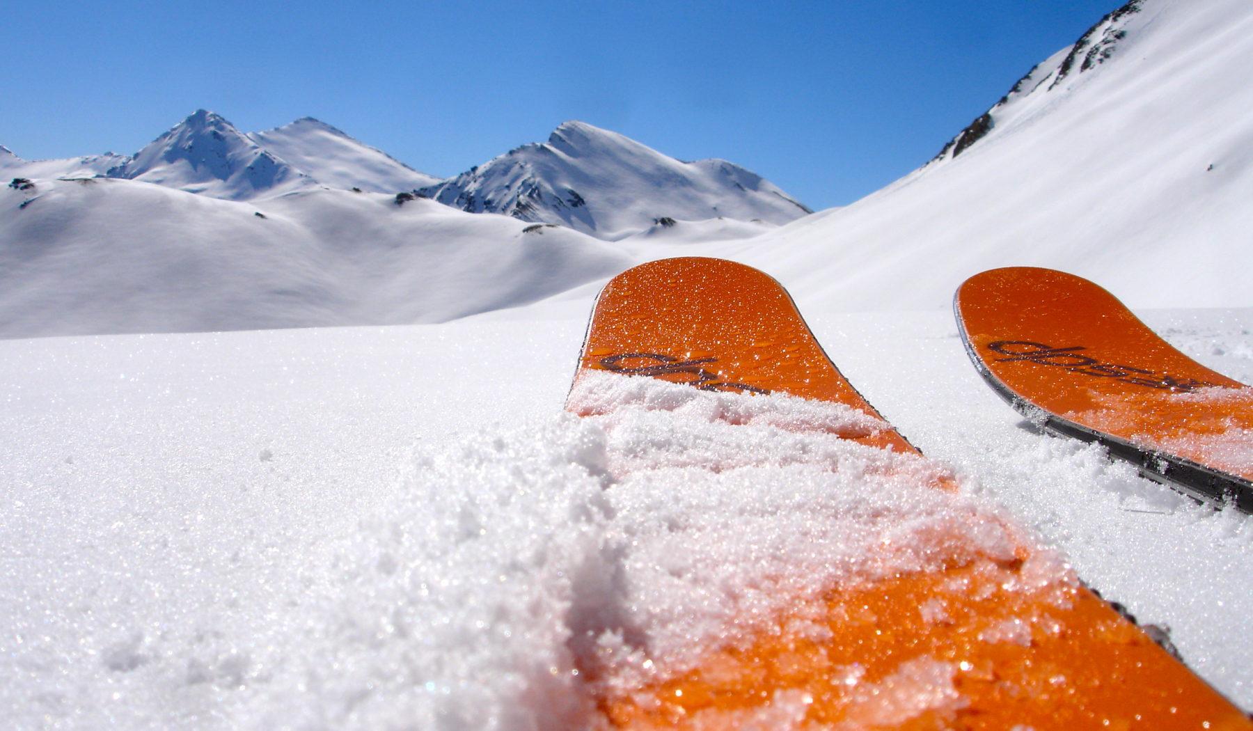 Ski de rando avec les guides de Serre Chevalier. Briançonnais.