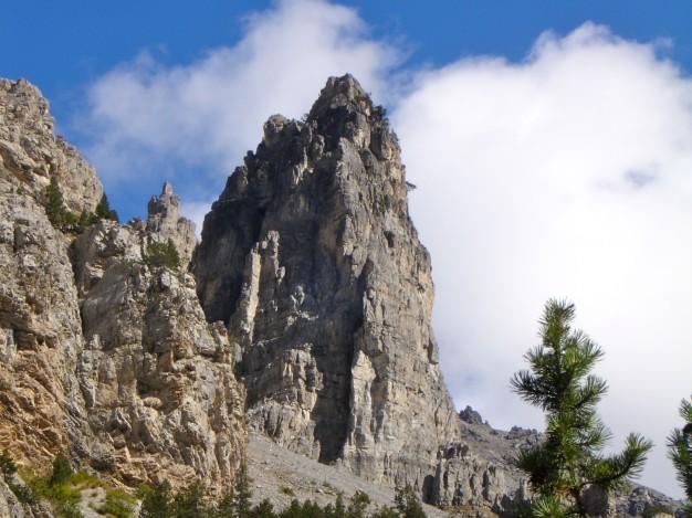 La Tour Germaine. Escalade en Briançonnais avec les guides de Serre chevalier.