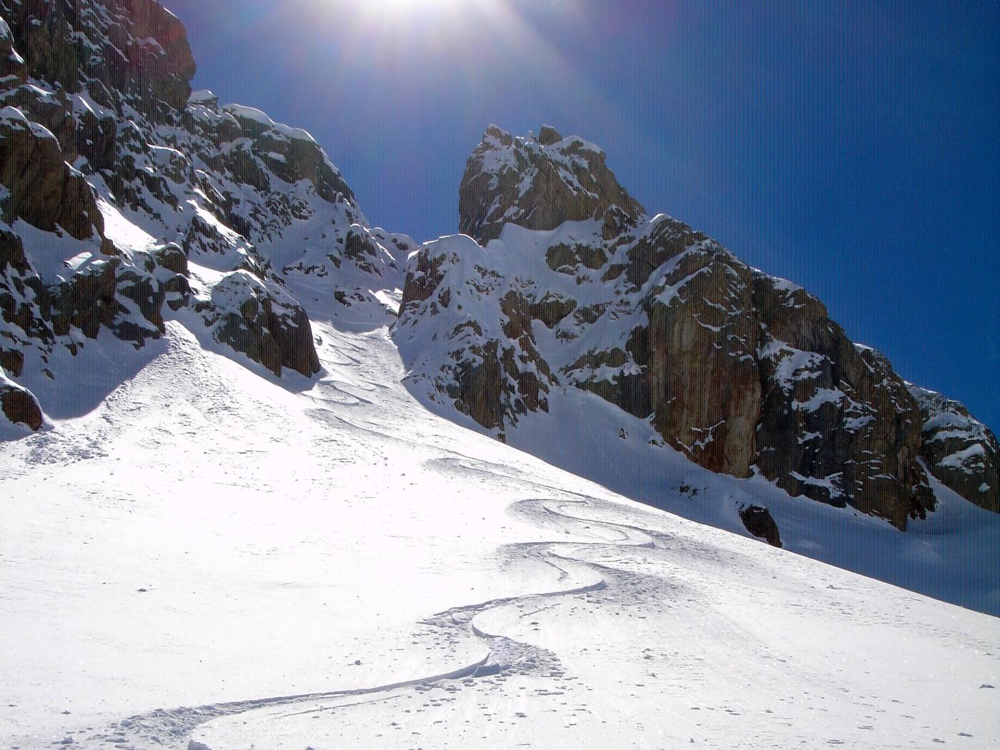 Ski de randonnée avec les guides de Serre Chevalier.