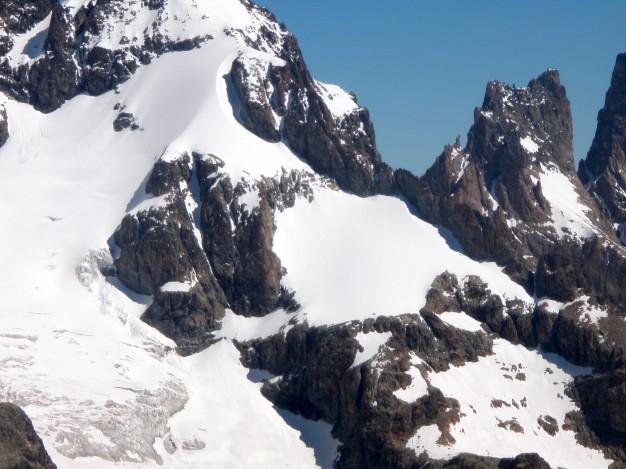 L'Ailefroide Orientale. Alpinisme dans le massif des Ecrins, Briançonnais.
