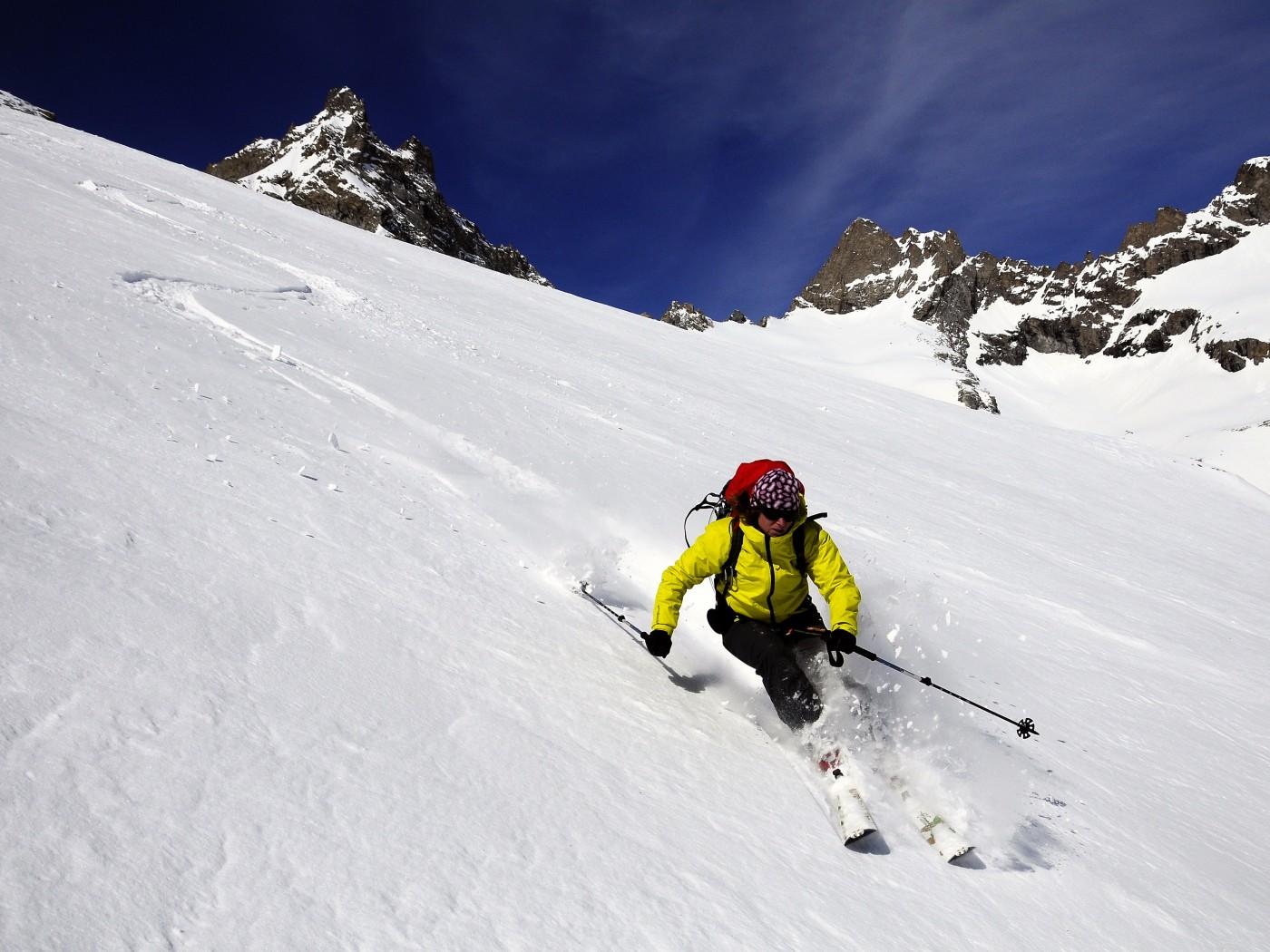 Ski de randonnée dans le Massif des Ecrins - Oisans.