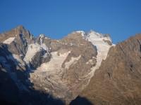 Du Pic Gaspard à la Meije, versant Nord.