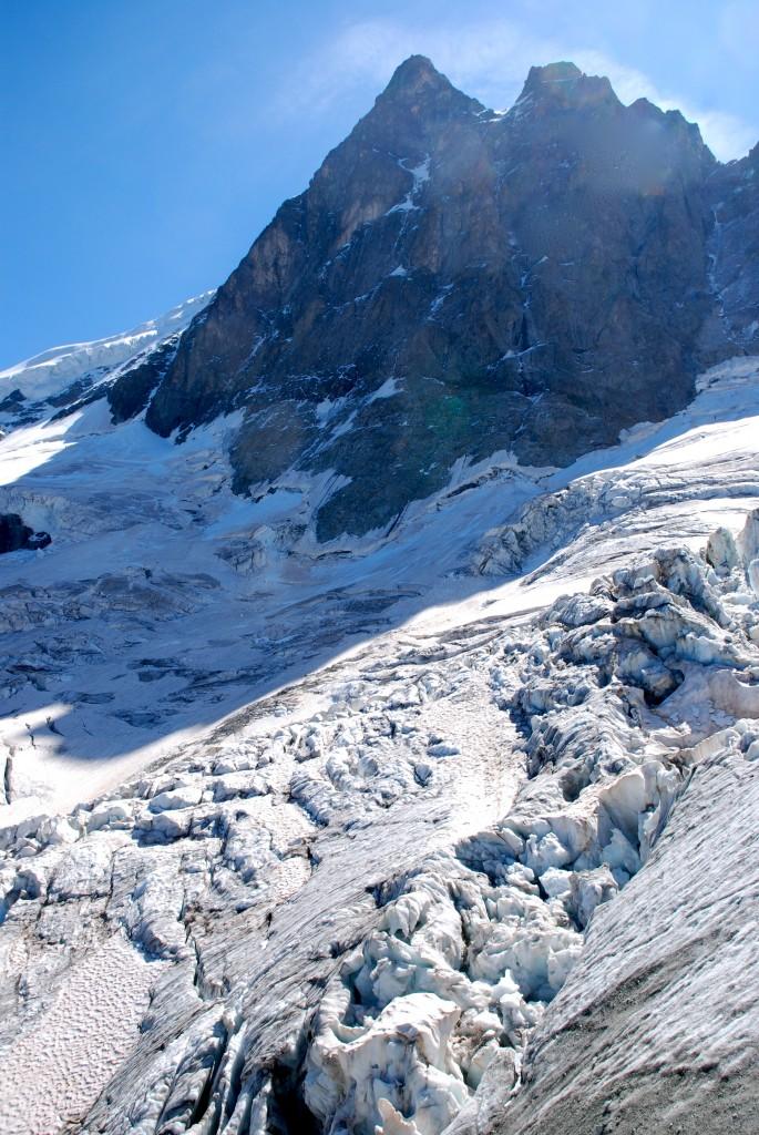 Sur le Glacier de la Meije.