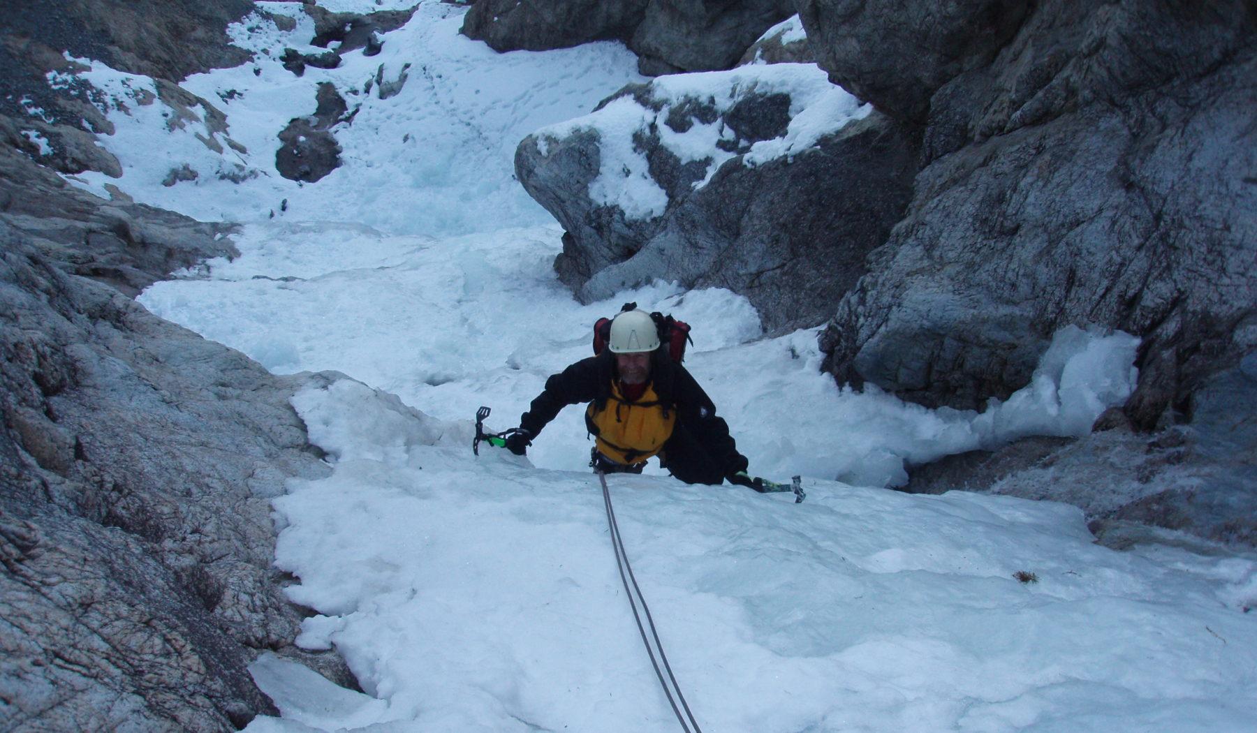 cascade de glace de Seguret Foran