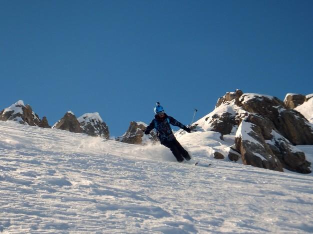 Free rando à Serre Chevalier avec les guides de haute montagne