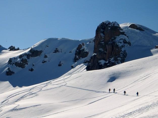 Hors piste, Serre Chevalier, guides de haute montagne
