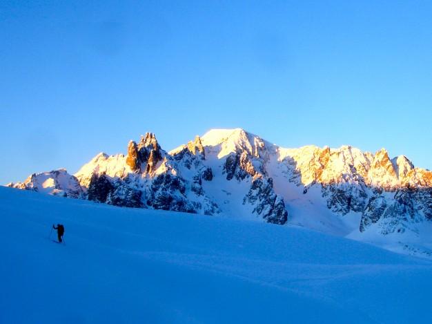 Ski de randonnée dans le massif des Cerces avec les guides de Serre Chevalier