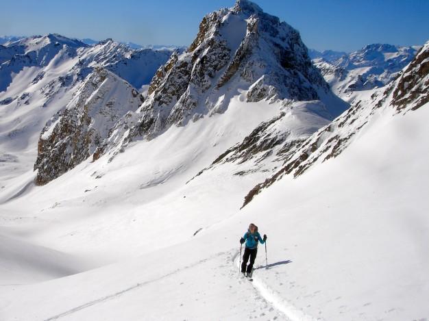 Ski de randonnée au Mont Thabor.