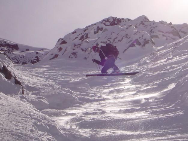 Ski de randonnée au Dôme du Monêtier avec les guides de Serre Chevalier.
