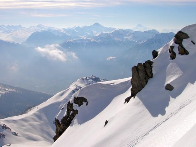 Ski hors piste à Serre Chevalier. Free ride avec les guides de Serre Chevalier.