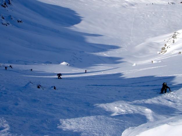 Côte Belle : ski de randonnée avec les guides de Serre Chevalier.