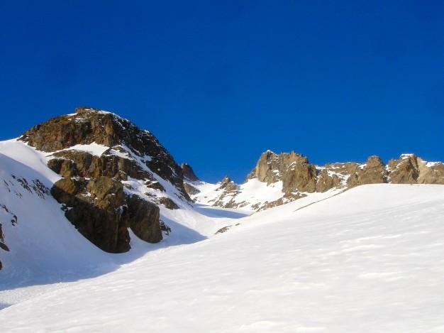 Pic Est du Combeynot : ski alpinisme avec les guides de Serre Chevalier.
