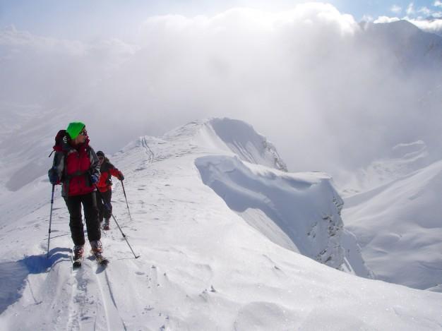 Ski de randonnée au sommet Henri Desgranges avec les guides de Serre Chevalier