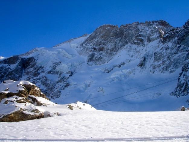 Ski hors piste à la Grave. Le Râteau. Free ride avec les guides de Serre Chevalier.