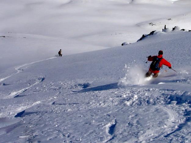 Ski de randonnée au Charoumu, vallée de la Clarée, avec les guides de Serre Chevalier
