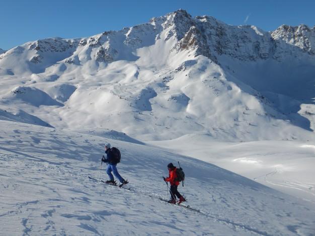 Week end initiation au ski de randonnée avec les guides de Serre Chevalier au refuge de Buffère