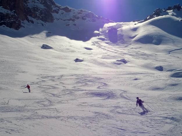 Hors piste, Serre Chevalier, Guides haute montagne