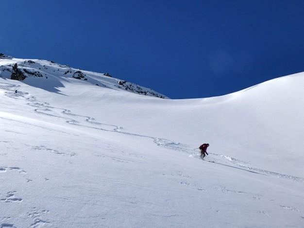 Ski de randonnée à la crête de Baude avec les guides de Serre Chevalier