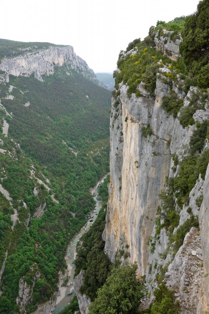 Gorges du Verdon : Belvédère du Treiscaïre