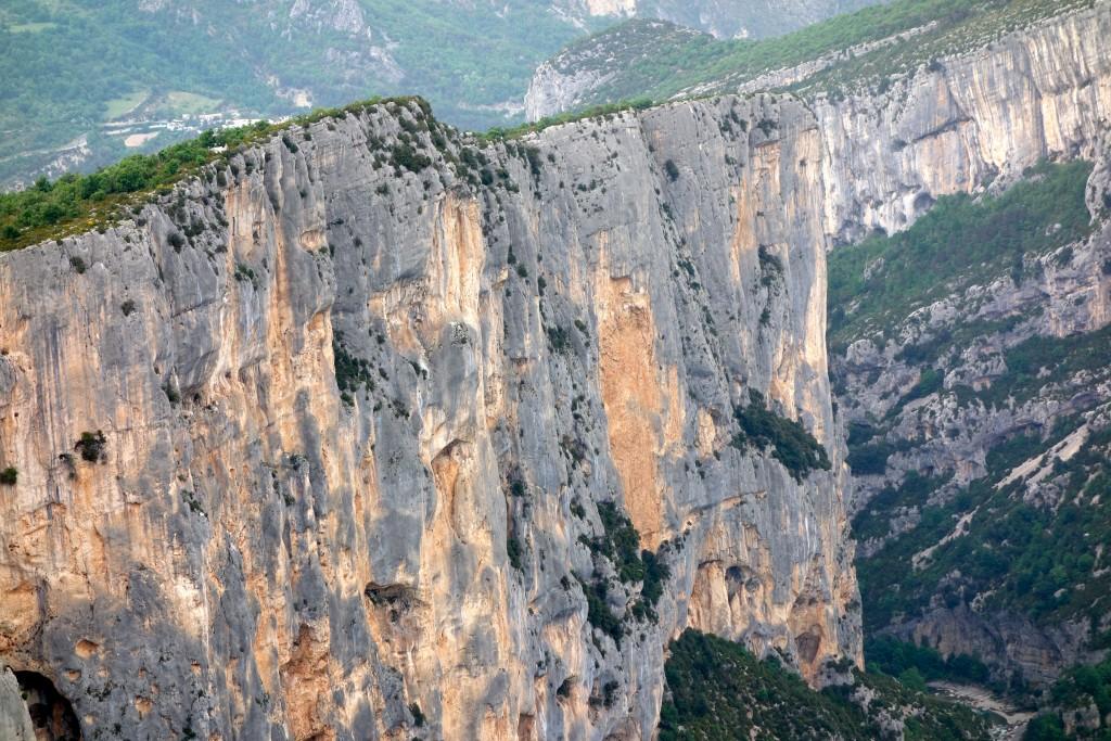 Gorges du Verdon : Falaise de l'Escalalès