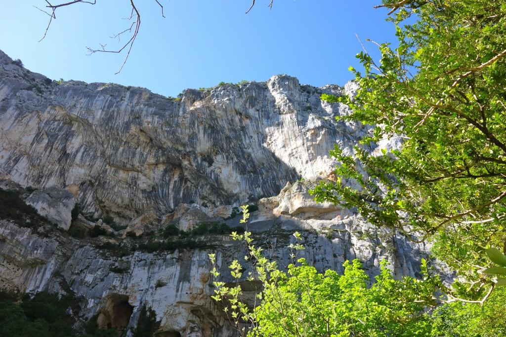 Gorges du Verdon : Senteir Blanc-Martel