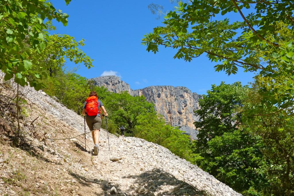 Gorges du verdon : Sentier Blanc-Martel