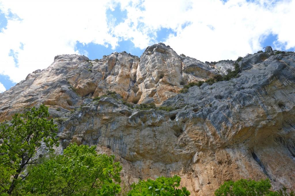 Falaise de l'Escalès, Gorges du Verdon