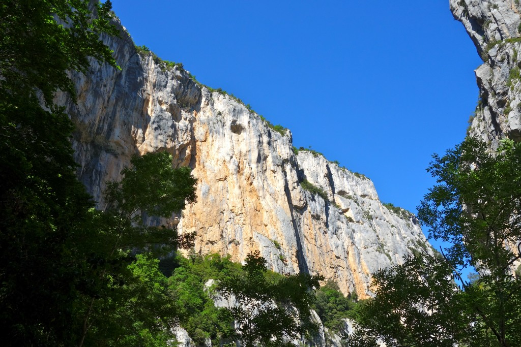 Gorges du Verdon, Sentier de l'Imbut