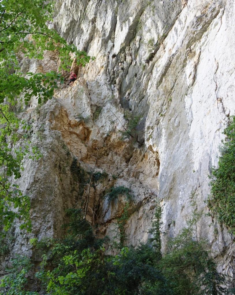 Départ du Sentier Vidal, Gorges du Verdon
