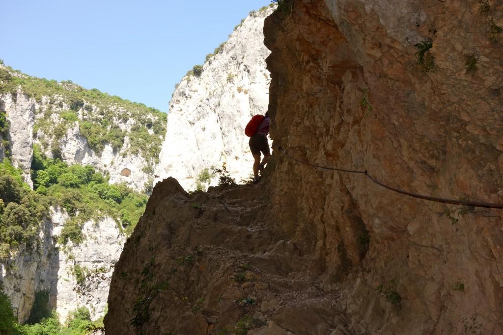 Randonnée dans le Verdon : Sentier Vidal