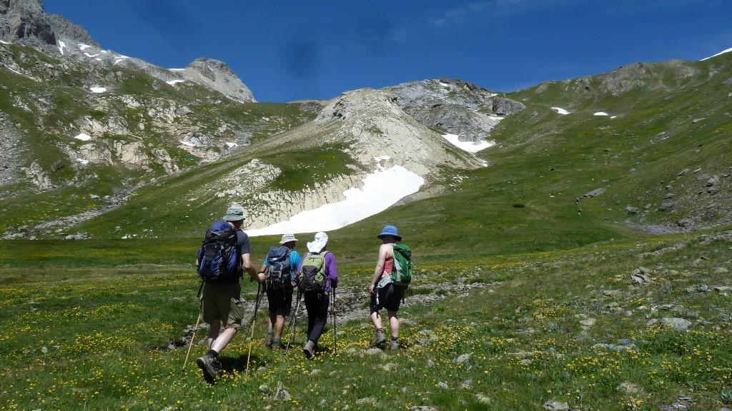 Hors sentier en direstion du Col de la ponsonnière