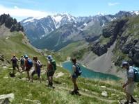 randonnée au col de la Ponsonnière dans le massif des Cerces.
