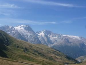 les glaciers de La Meije des Hyères