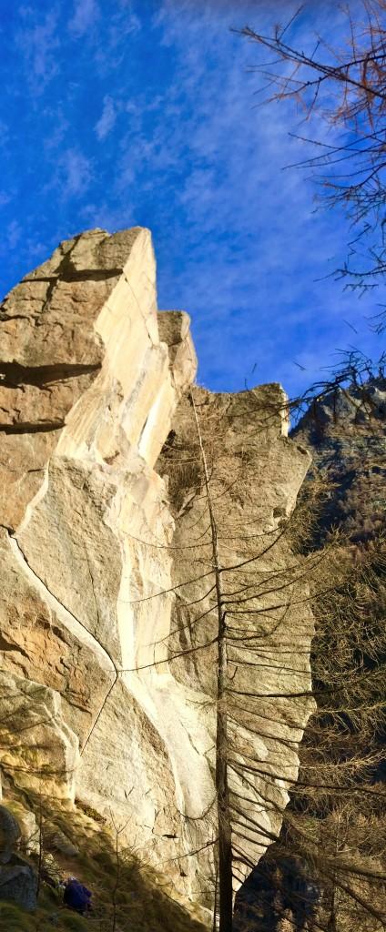 Val d'Orco, le paradis du granit