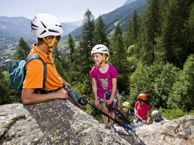Via Ferrata du Bez accessible aux enfants