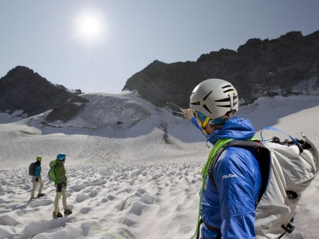 Randonnée glaciaire avec le Bureau des Guides de Serre Chevalier