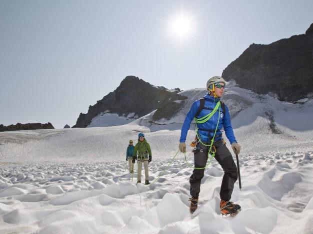 Randonnée Glaciaire sur le La Glacier de la Girose avec le Bureau des Guides de Serre Chevalier
