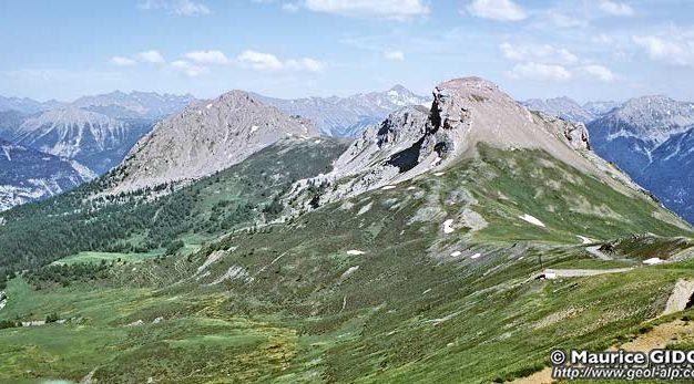 Panorama du Rocher Blanc de Serre Chevalier